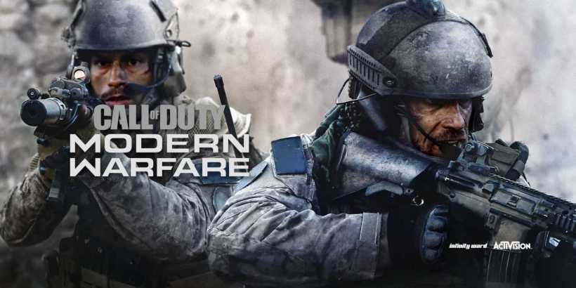 Call of Duty Modern Warfare Logo Artwork