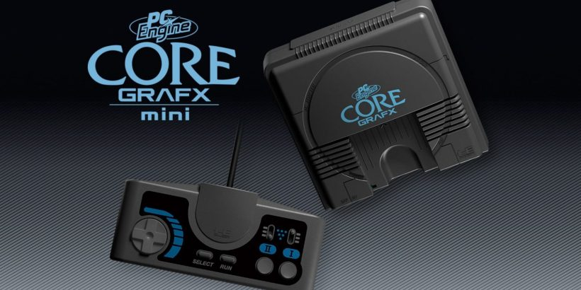 PC Engine Core Grafx mini2