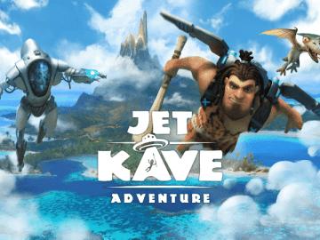Jet Kave Adventure Logo Artwork