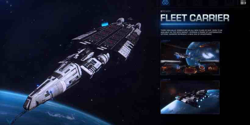 Elite Dangerous Fleet Carrier
