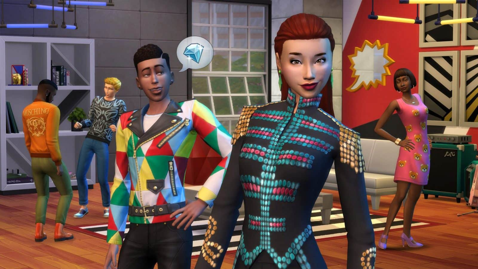 Die Sims 4: Moschino
