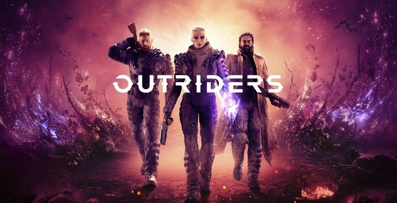 Outriders Logo Artwork