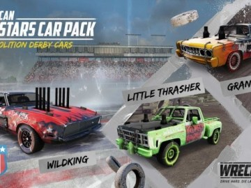 Wreckfest American All-Stars Car Pack