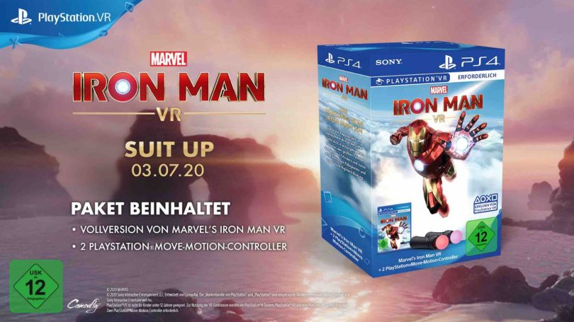 Marvels Iron Man VR Controller Pack