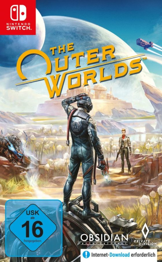 The Outer Worlds Switch Cover