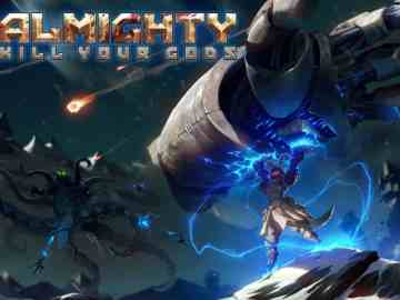 Almighty: Kill Your Gods Keyart