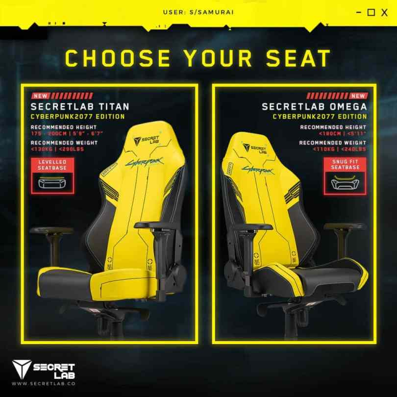 Secretlab Cyberpunk 2077 Gaming Chair