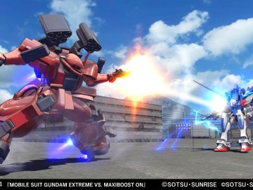 MOBILE SUIT GUNDAM EXTREME VS. MAXIBOOST ON