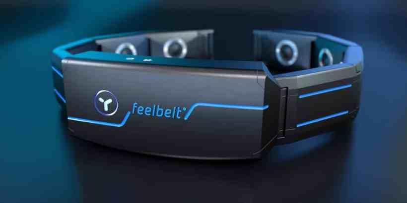 feelbelt haptic feedback belt