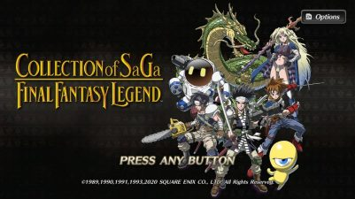 FINAL FANTASY LEGEND SaGa