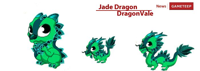 DragonVale Thirteenth Gemstone Dragon Jade Dragon