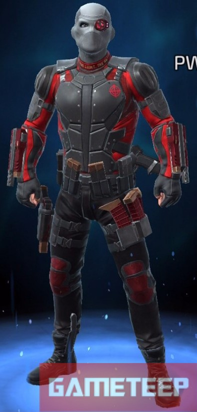 Deadshot Suicide Squad DC Comics Legends Gameteep