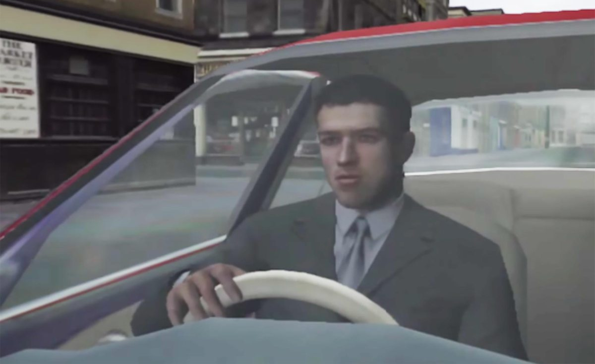 Mark Hammond in The Getaway.