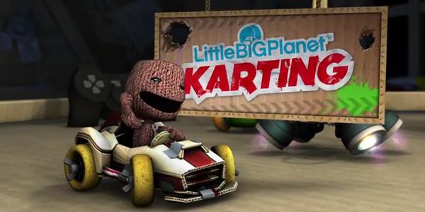 Der Sackboy Gibt Gas Littlebigplanet Karting Für Playstation 3 Im