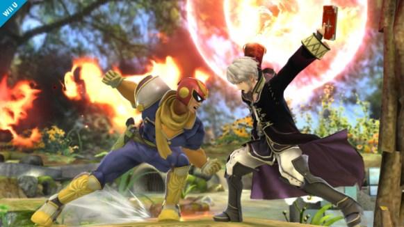 Das Fire Emblem-Dou und Captain Falcon sind mit an Bord