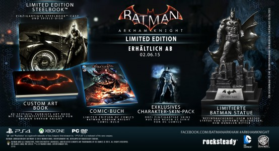 Batman Arkham Knight Limited Edition