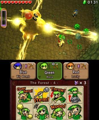 """Teamwork: Nur mit einem """"Totem-Link"""" kann man die Schwachstelle des Gegners erreichen!"""