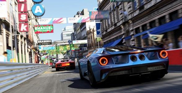 In Forza Motorsport 6 rasen wir auch durch die Straßen Rios.