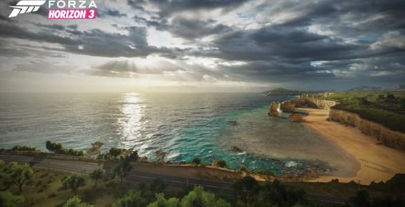 Forza Horizon 3 Coast Landscape