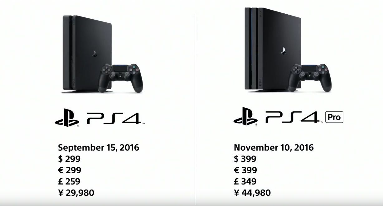 Preisvergleich: PS4 Slim vs. PS4 Pro