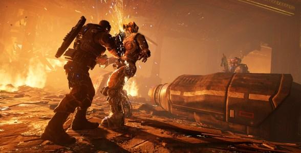 Gears of War 4 setzt die Serie hervorragend fort.