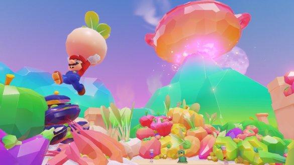 Bei Super Mario Odissey erwarten uns wieder bunte Welten.