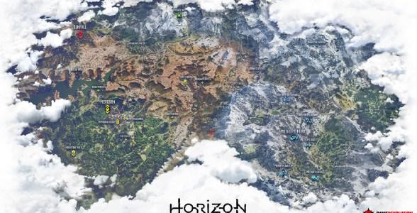 horizonkarte