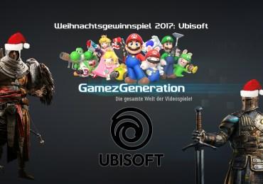 Ubisoft Weihnachtsgewinnspiel 2017