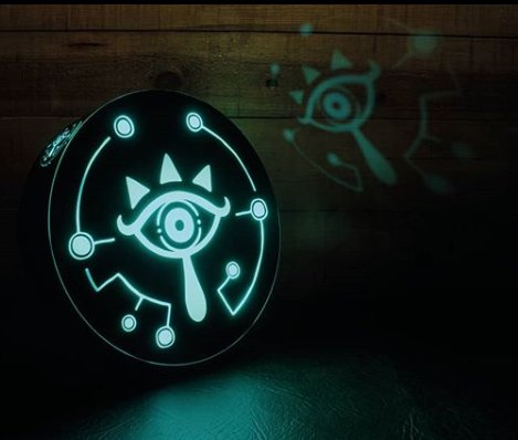 Legend of Zelda: Out of the Shadows Sheikah Eye Projection Light