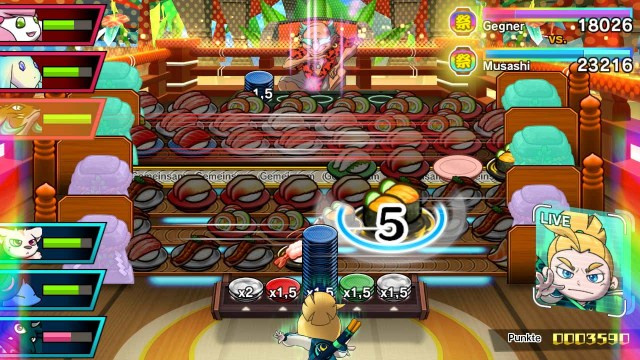 Sushi Striker: The Way of Sushido Kampf