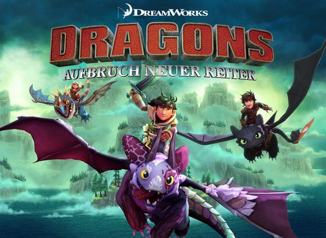 DreamWorks Dragons - Aufbruch neuer Reiter