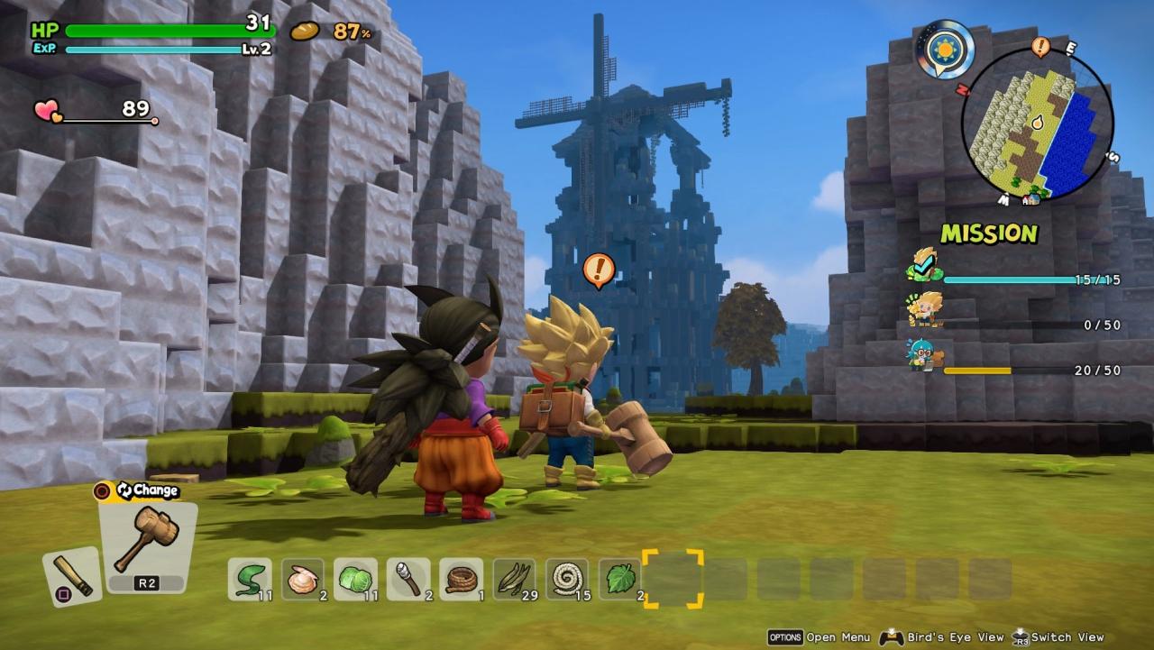 Technisch macht Dragon Quest Builders 2 einiges her und überzeugt mit stimmigem Anime-Look