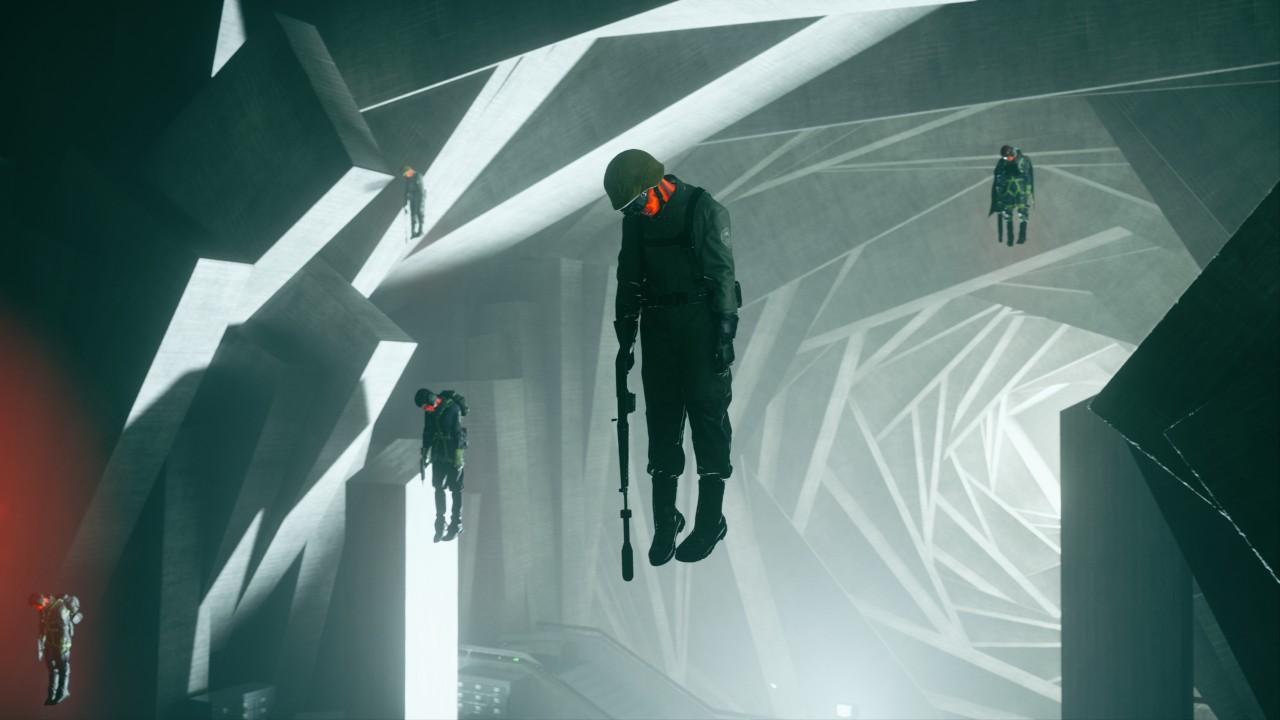 Die Agenten des FBC wurden in Control für mysteriösen Flüstern befallen