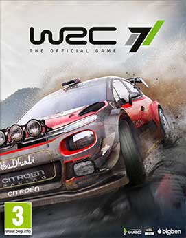 WRC 7: World Rally Championship (5DVD) - PC-0