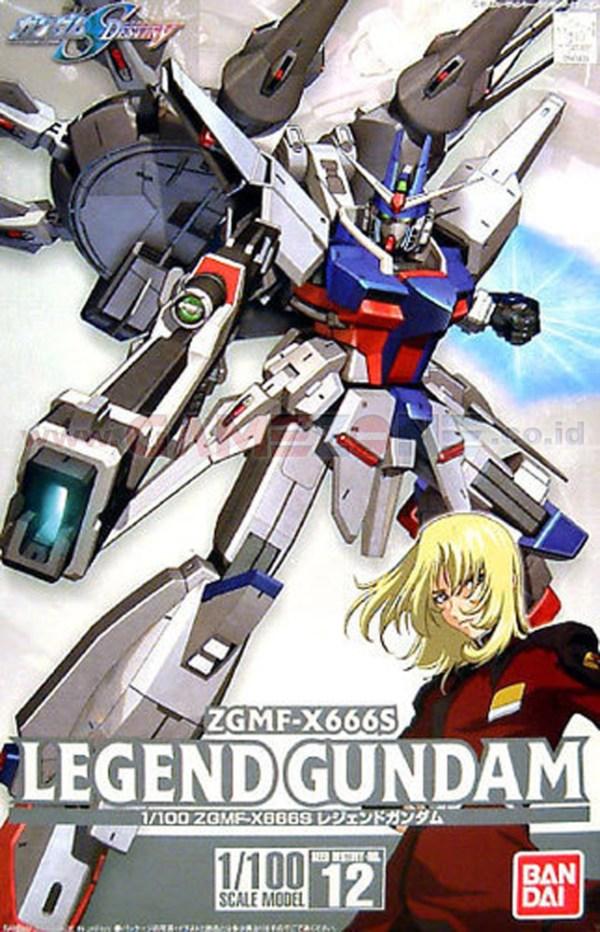 Gundam Legend ZGMF-X666S 1/100 Scale-0