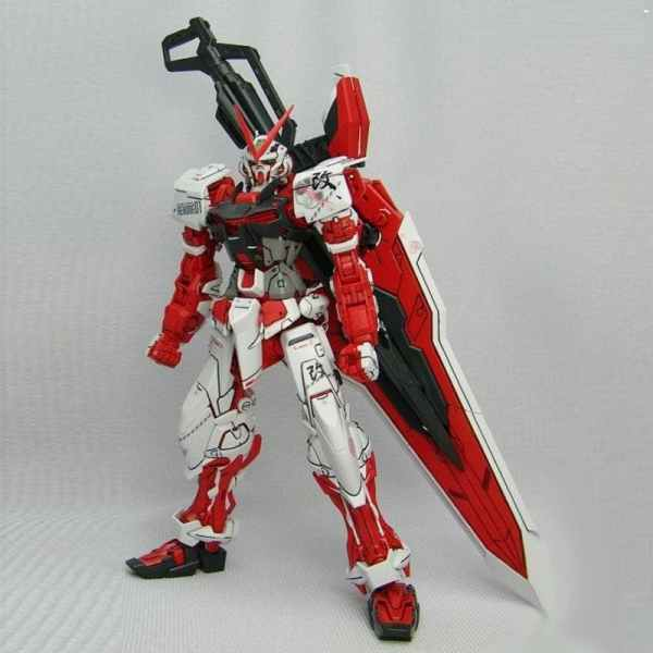 Gundam Astray Red Frame (MG)-0