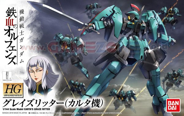 Gundam Graze Ritter (Carta's Custom) (HG)-0