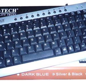 Keyboard Mini Multimedia M-Tech-0