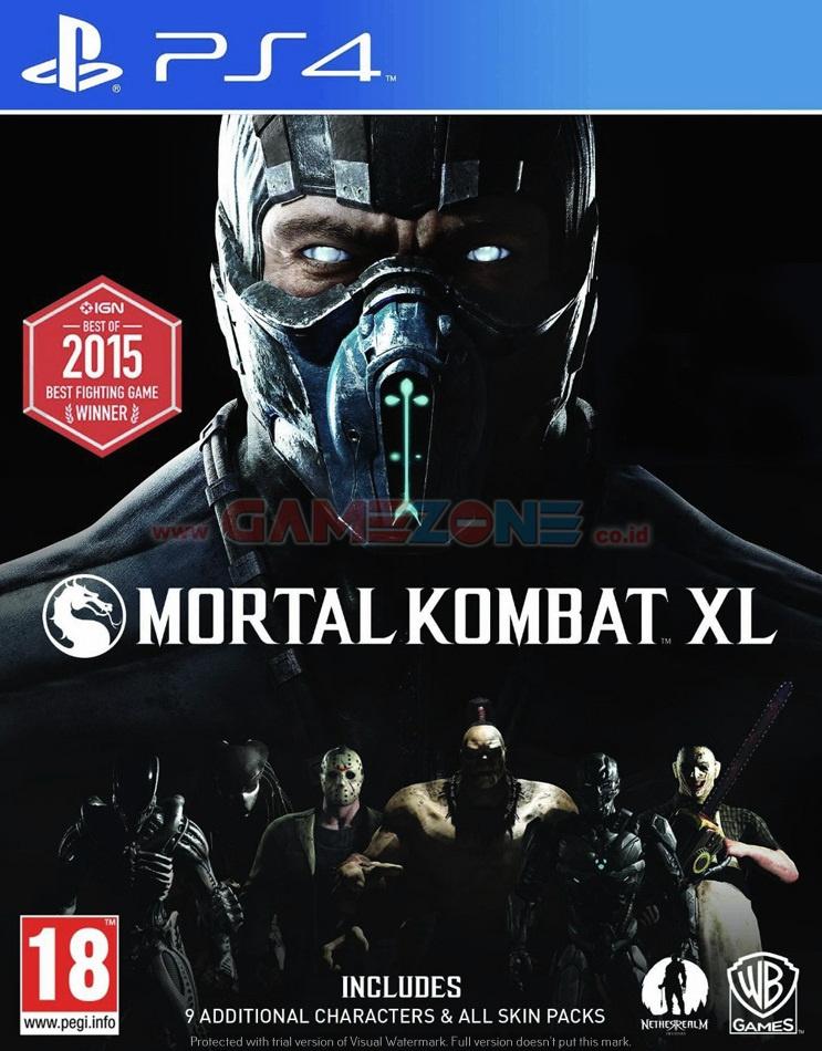 Jual Mortal Kombat Xl Reg3 Ps4 Gamezone