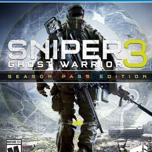 Sniper: Ghost Warrior 3 -Season Pass Edition - PS4 - Reg1 - PS4-0