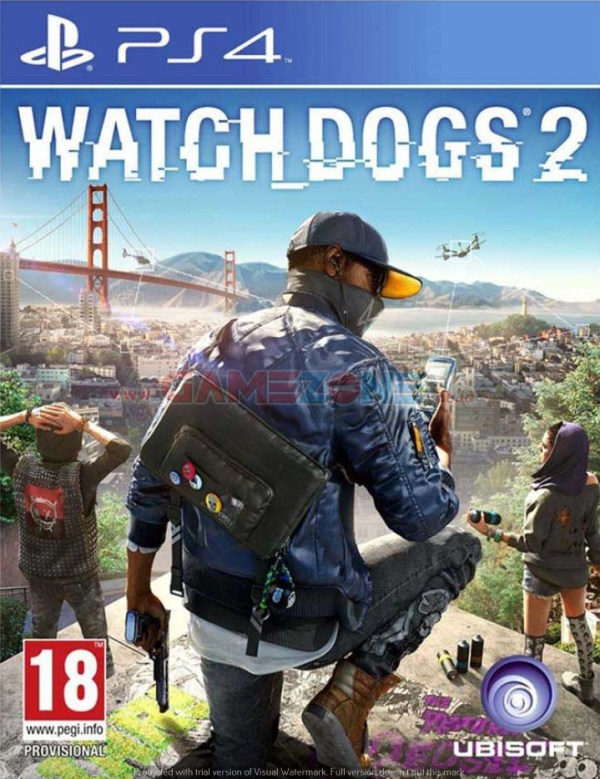 Watch Dogs 2 - Reg2 - PS4-0