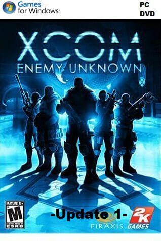 XCOM : Enemy Unknown - Update 1 (DVD) - PC