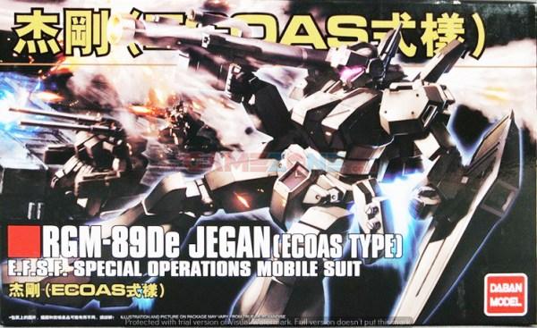 Gundam Jegan RGM-89De (Ecoas Type) (HG) - Daban Model-0
