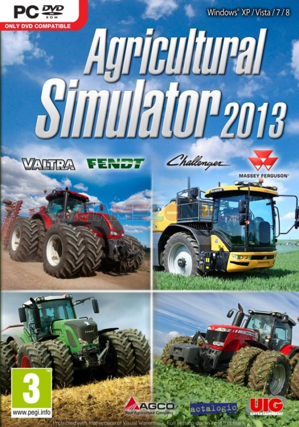 Agricultural Simulator 2013 (DVD) - PC-0