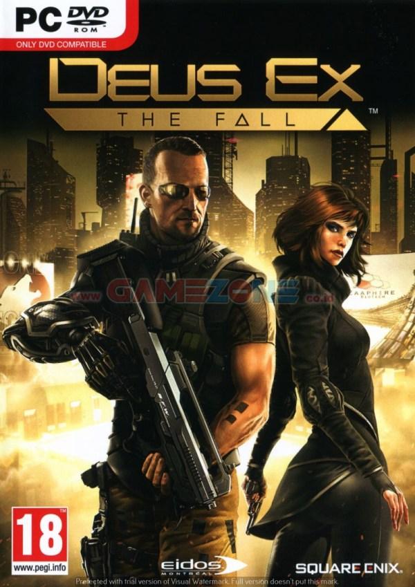 Deus Ex: The Fall (DVD) - PC-0