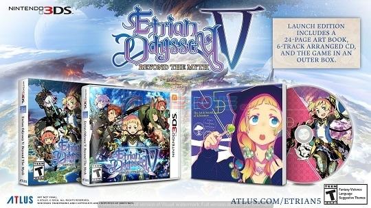 Etrian Odyssey V: Beyond the Myth - 3DS-0