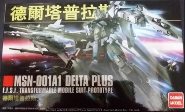 Gundam Delta Plus MSN-001A1 (HG) - Daban Model -0