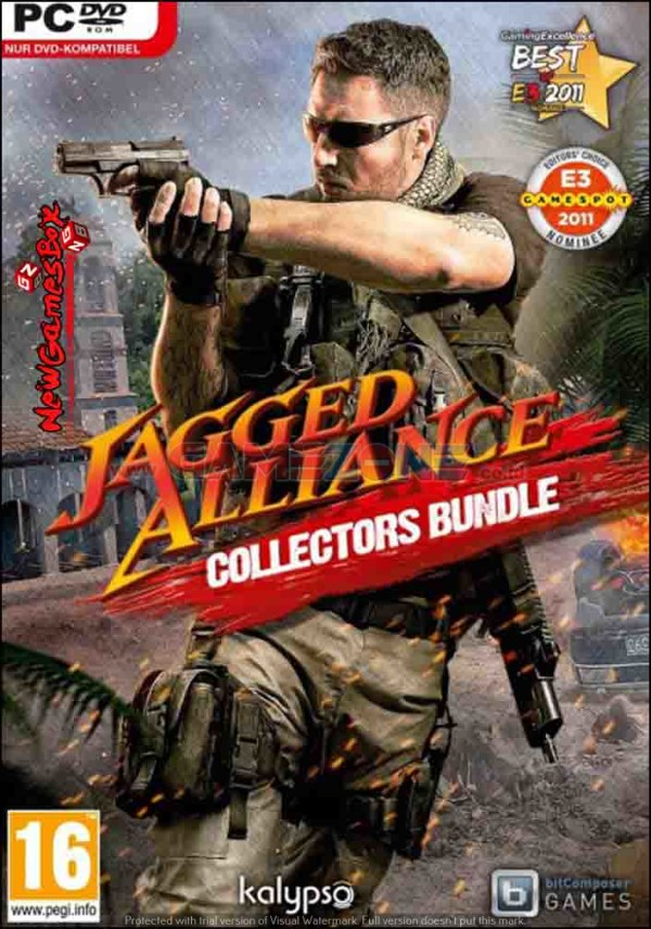 Jagged Alliance: Collector's Edition (DVD) - PC-0