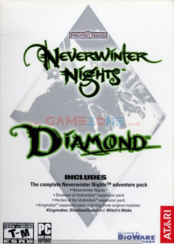 Neverwinter Nights: Diamond (DVD) - PC-0