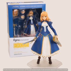 Saber Blue Dress Version EX-025 - Figma -0